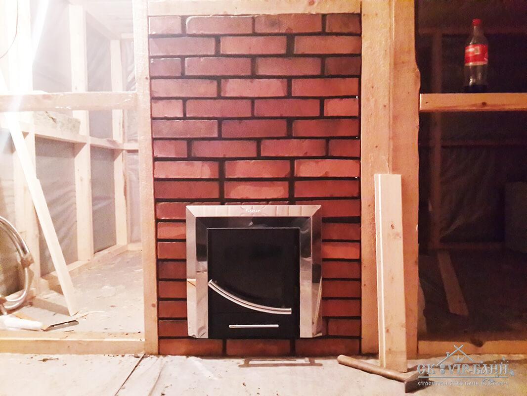 Печь в каркасном доме своими руками фото 63